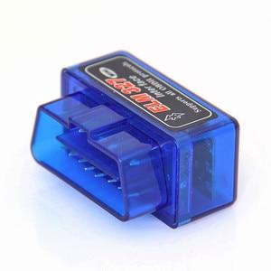 Image 3 - Super Mini Elm327 Bluetooth V 2,1 OBD2 EOBD Ulme 327 Mini Auto Code Diagnose Scaner Kostenloser Versand