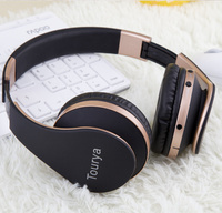 Tourya B2 Wireless Headphones Bluetooth Headsets Headphone Earphone With Microphone Support TF Card For PC Mobile