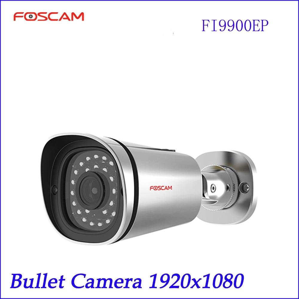 bilder für 2016 Foscam FI9900EP 1080 P 2,0 Megapixel FHD Im Freien Wasserdichte PoE Ip-kamera