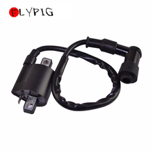 FLYPIG Black Ignition Coil Wired Cable PY PW 50 Bike Parts Spark For YAMAHA PW50 PY50 Peewee Professional Motorcycle Ignition