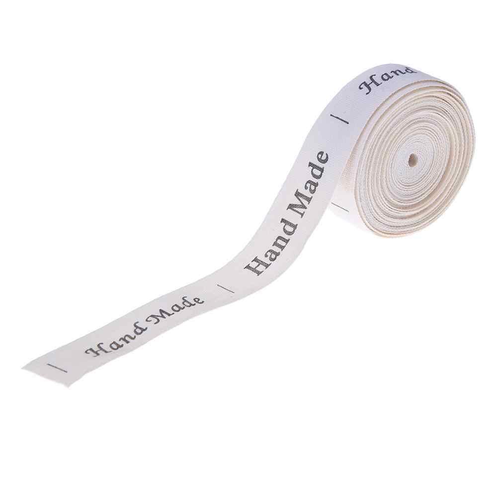 5 야드 짠된 태그 Lable 의류 레이블에 대 한 DIY 바느질 패브릭 태그 수 제 의류 태그 Stampato 천으로 장식 레이블 태그