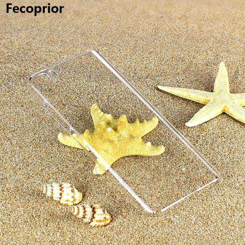 Fecoprior Mi5 Thin Crystal clear transparent Hard PC M5 Case For Xiaomi 5 Mi5 Redmi Note ...