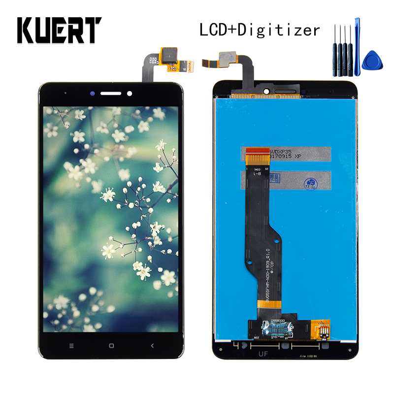 KUERT 5.5High Quality For Xiaomi Redmi note 4X Touch Screen Digitizer 1920x1080 LCD Display Assembly Free shipping