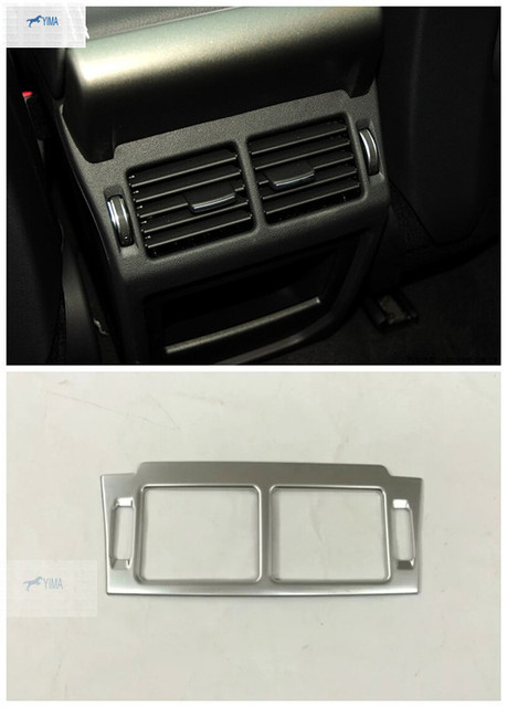 New Accessories Interior For Range Rover Evoque Abs Chrome Armrest