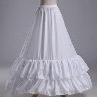 ILoveWedding Chất Lượng Cao A Line White Wedding Bridal Petticoat Lót Crinolines cho Váy Cưới Miễn Phí