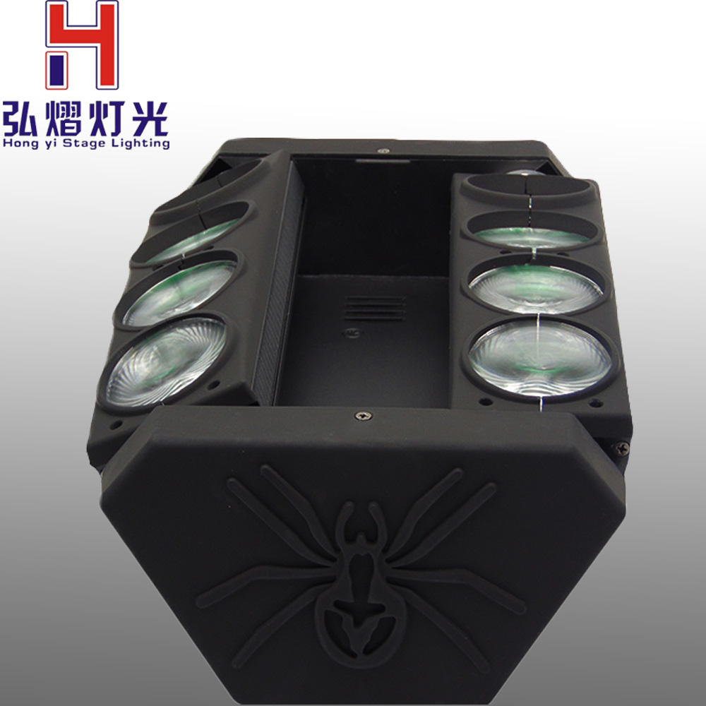 Portable NEW Moving Head Light Mini LED Spider 8x6W RGBW Beam Light Good Quality Fast ShippingPortable NEW Moving Head Light Mini LED Spider 8x6W RGBW Beam Light Good Quality Fast Shipping