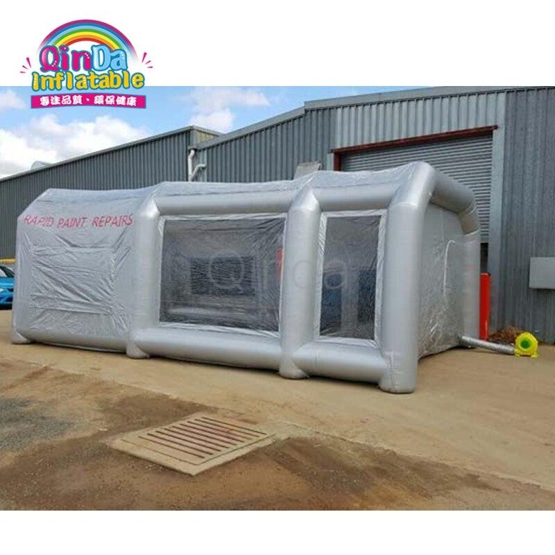 Formato Standard Gonfiabile Portatile Airbrush Spray Auto Vernice Booth Con Filtro A Carbone