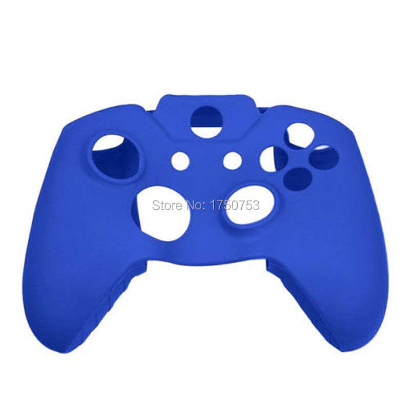 Blue High Quality Silicone Rubber Soft Skin Case Handle Cover For Xbox One Controller Grip
