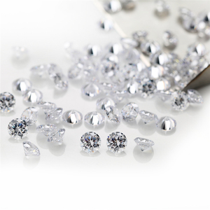 100pcs 0.8~4.0mm Round Shape Loose CZ Stone White cubic Zirconia Synthetic Stone AAAAA Quality For Jewelry DIY stone