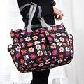 Nueva Moda Estilo de La Flor Impermeable de La Momia Del Bolso Del Panal Bolso Cambiador de Pañales Bolsas de Mensajero Bolso de Mano Del Bebé Tasche