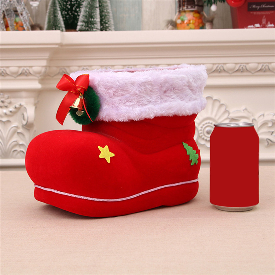 Stockings 1pc Santa Boot Shoes Candy