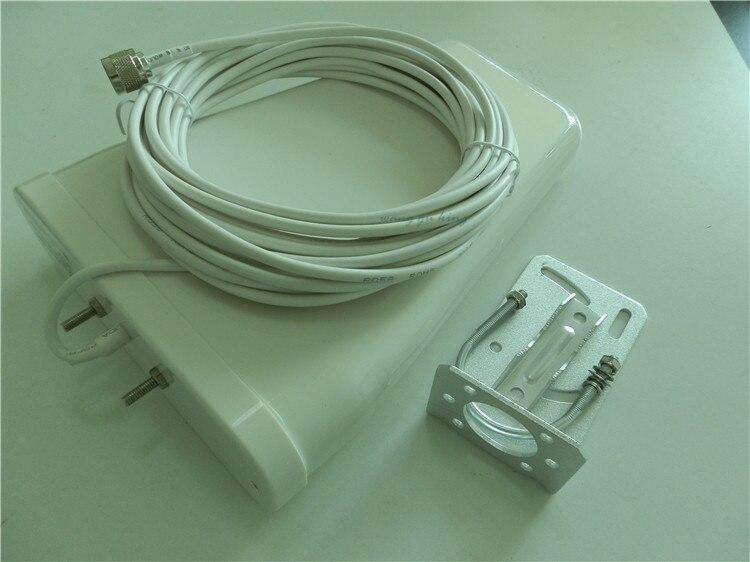Affichage LCD DCS 1800 MHz CDMA 850 Mhz double bande téléphone portable Booster de Signal téléphone portable 2g 3g wifi 4G LTE répéteur de Signal + antenne - 5