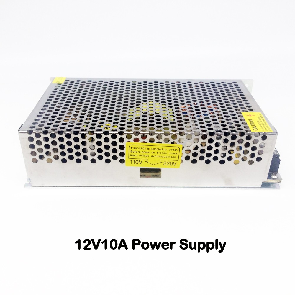 12V 10A 240W CCTV Power Adapter Transformers Metal Switching Power Supply For LED Strip Light Display 220V/110V For CCTV Cameras 12v 8 3a 100w power supply driver converter strip light 220v 110v dc universal regulated switching for cctv camera led monitor