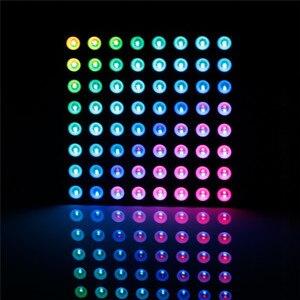 Image 5 - SunFounder 8x8 מלא צבע RGB LED מטריקס נהג חומת + RGB מטריקס מסך עבור Arduino