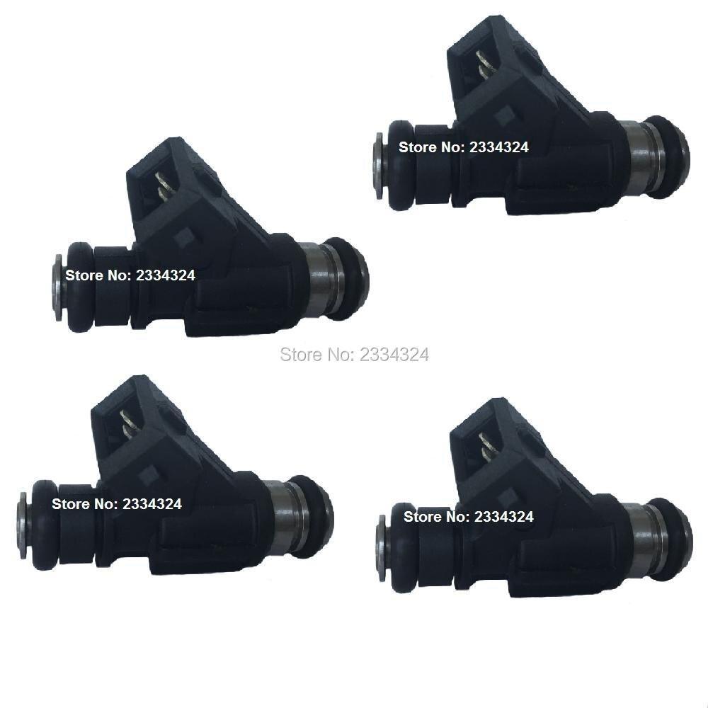 4 x Fuel Injection for Ford Mondeo Chery QQ GM Hafei wuling DFM CORSA Suzuki Chana FLEX 25342385 93345842 ...