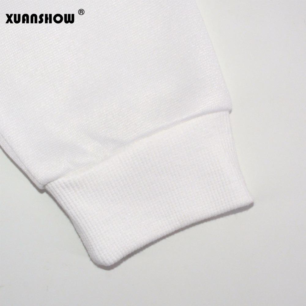 XUANSHOW 19 Women Sweatshirts Hoodies Character Printed Casual Pullover Cute Jumpers Top Long Sleeve O-Neck Fleece Tops S-XXL 15