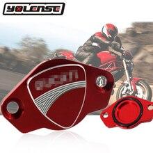 Аксессуары для мотоциклов с ЧПУ Алюминий двигателя декоративная крышка генератора Кепки для поездок на мотоцикле Ducati MONSTER 400 600 620 2000-2007