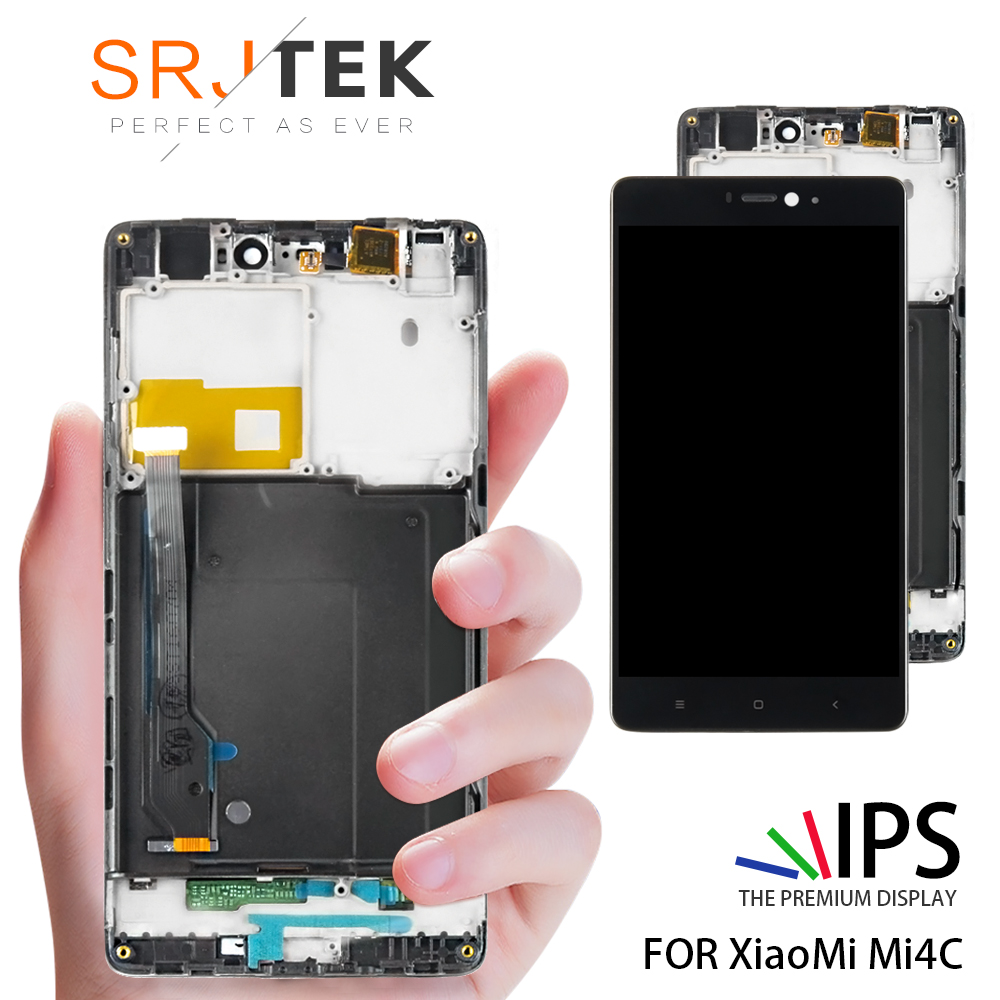 No Dead Pixel 5.0 1920x1080 Replace Screen Mi 4C LCD For XIAOMI Mi4C LCD Display Touch Screen Digitizer with FrameNo Dead Pixel 5.0 1920x1080 Replace Screen Mi 4C LCD For XIAOMI Mi4C LCD Display Touch Screen Digitizer with Frame