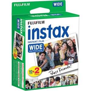 Image 5 - Fujifilm Instax WIDE 300 Film natychmiastowy aparat fotograficzny + Fuji Instant 210 szeroki zwykły biały ramka 40 arkuszy kolorowe zdjęcia filmy