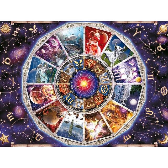 Full Square Diamond Painting fantasy Astrology 5D Diamond embroidery  Needlework 3d Diamond Mosaic Cross Stitch zodiac 192adf1f58c4