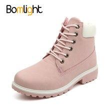 784a88a65a145 Bomlight femmes hiver fourrure chaussures marque bottes femmes mignon rose  bottes de travail de qualité bottes