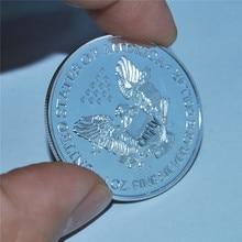 Hot selling 2014 USA American Silver Eagle 1troy oz .999 Bullion Round coin High quality copy, silver eagle 1OZ