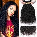 Peruvian Virgin Hair Natural Wave 4 Bundles Natural Curly Weave 100% Unprocessed Virgin Peruvian Human Hair Extensions Sale