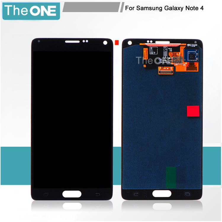 LCD for Samsung Galaxy Note4 N910C N910F SM-N910 N910X Screen Note 4 IV Digitizer Assembly Replacement