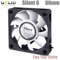GELID SILENT 6 60mm PC Computer Case Fan CPU Cooler Cooling Heat Sink Radiator 6cm Fan