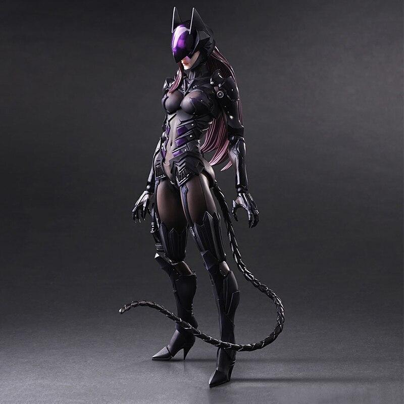 PA Final fantaisie Action FigureDIY Catwoman modèle poupée décoration Pvc classique Collection Figurine enfants jouets 25 cm
