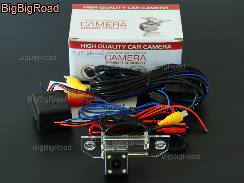 bigbigroad car rear view reversing backup camera with filter power rh aliexpress com Ford Backup Camera System Ford Explorer Backup Camera
