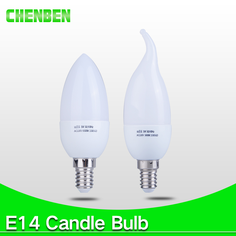 Led Candle Light Bulb E14 Lamps Energy Saving Lamp Velas Bombilla Decorativas Home Lighting Ampoule Led 220V 3W 5W E14 Bulb
