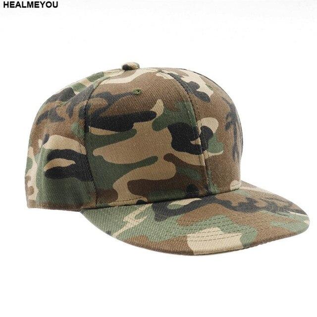 fd20cb176eaada New Men Women Camouflage Half Mesh Army Baseball Cap Desert Jungle Snap Camo  Hat
