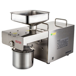 Hot model Automatic oil extraction machine, Stainless steel Oil Pressers seed oil extractor 356