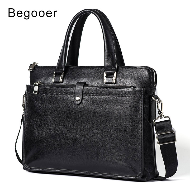 2018 New Fashion Genuine Leather Men Bag High Quality Leather Shoulder Bag Messenger Business Bags Handbag Laptop Briefcase Male2018 New Fashion Genuine Leather Men Bag High Quality Leather Shoulder Bag Messenger Business Bags Handbag Laptop Briefcase Male