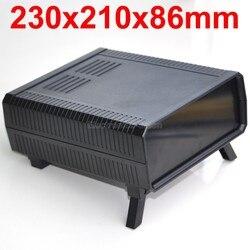 HQ инструментария ABS Корпус Корпуса проекта, черный, 230x210x86 мм.