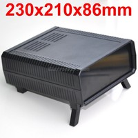 HQ Instrumentation ABS Project Enclosure Box Case Black 230x210x86mm