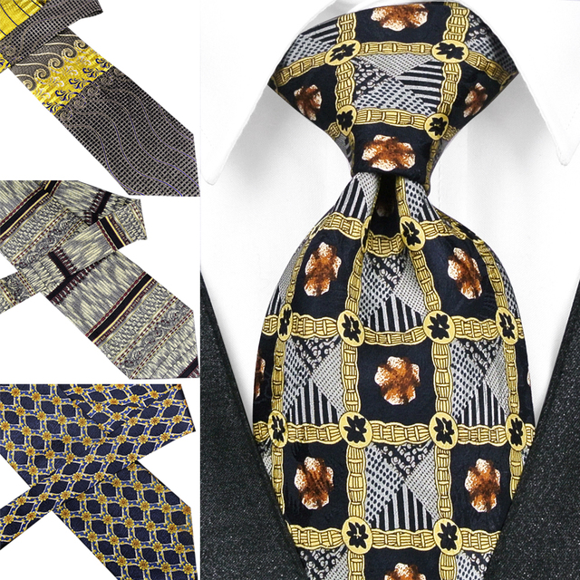 d823850ec565 Handmade Printing Mens Ties Necktie Pattern Paisley Geometric 100% Silk  Printed Classical Free Shipping Unique Suit Gift For Men