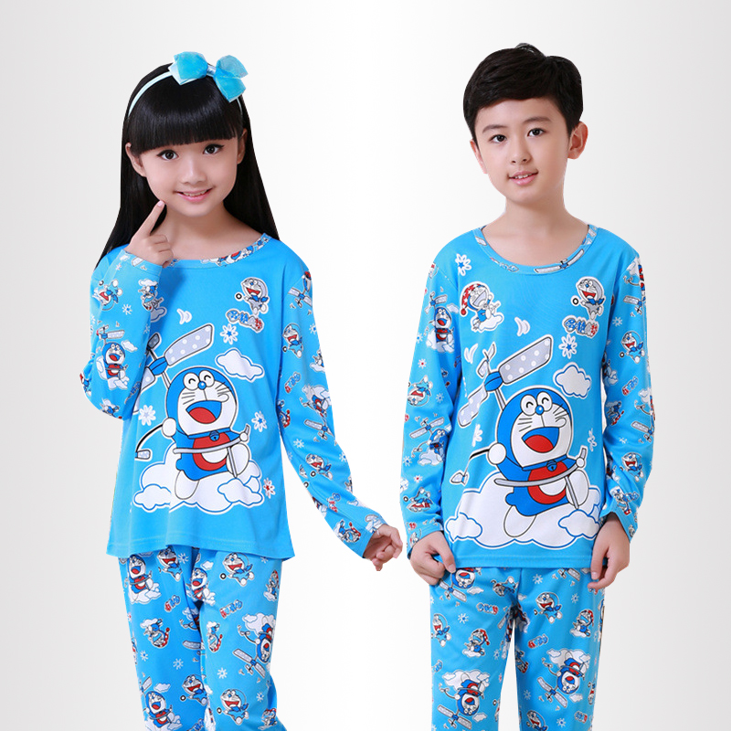 Children's pajamas set Spring and autumn girls lovely long sleeved Pyjamas suit baby homewear kids sleepwear clothes for boy cotton spring thomas train children clothes set long sleeve sleepwear pajamas boy sports suit blue tracksuit for 2t 7t kids