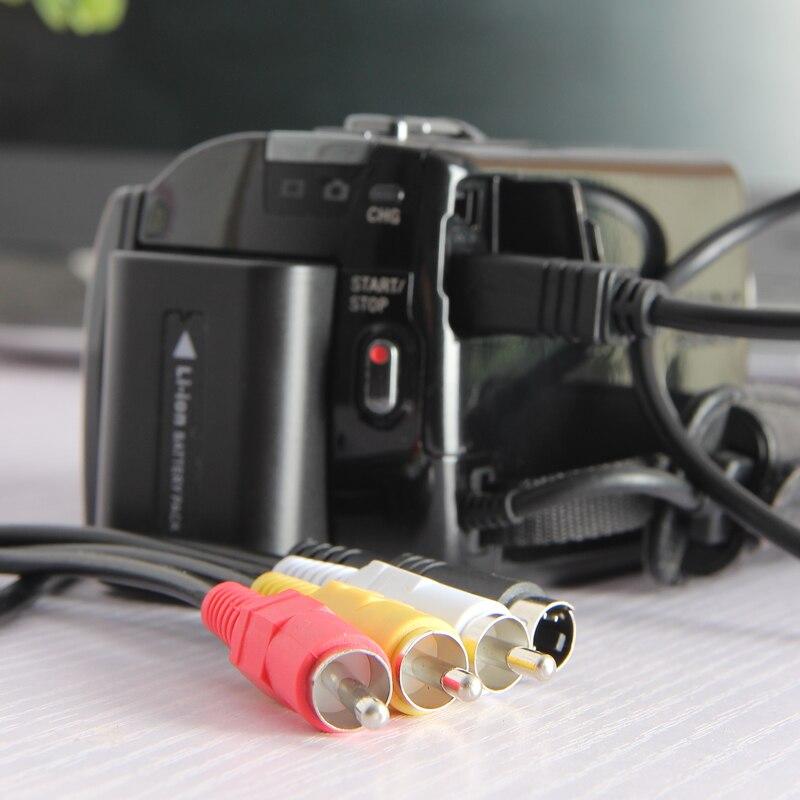 Zhenfa FOR SONY AV A/V video cable DCR-HC23 DCR-HC24 DCR-HC26 DCR-HC27 DCR-HC26 DCR-HC28 DCR-HC30 DCR-HC32 DCR-HC33 DCR-HC35