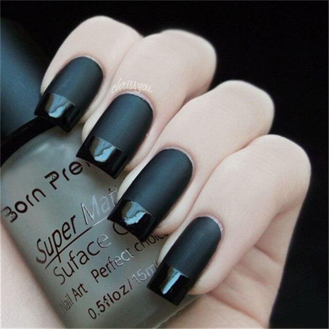 1pc 15ml Super Matte Change Surface Glossy Oil Nail Polish Nail Art ...