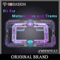 KODASKIN Aluminium Legierung Multicolor Lizenz Platte Rahmen Fit für Motorräder und Trams HONDA NC750X DL650 DL1000 NINJA400 KAWASAKI