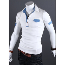 ZOGAA New 2019 Hot Sale  Men Polo Shirt Brands Male Short Sleeve Casual Slim Solid Color Deer Embroidery