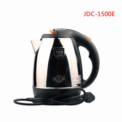 JDC-1500E 1.5L Stainless Steel Electric Kettle With anti-dry Function, Household Quick Heat Water Heating Kettle JDC-1500E