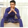 2016 сексуальные мужчины термобелье кальсоны установить высокое качество хлопок человек домой салон пижамы спальные Clothnig