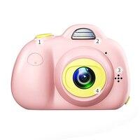 Cute Children Digital Camera Full Hd 1080P Mini Dual Lens Kids Camera 2Inch 8Mp Slr Video Camera Best Gifts For Kids Children