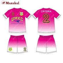 6cd90f7fa96a9 Diy cor oem odm aceitável barato futebol jersey sublimação completa de  impressão de ...