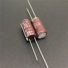 10 шт. 470 мкФ 35 В NIPPON NCC KY серии 10×20 мм низкий импеданс долгий срок службы 35V470uF Алюминий электролитический конденсатор