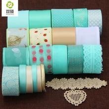 Fresh Bule Series Ribbon For Diy Handmade Gift Craft Packing