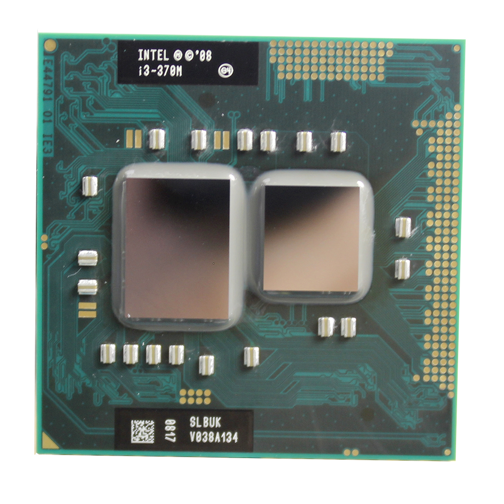 Intel Core I3 370M 3M Cache 2.4 GHz Dual Core Socket G1 Laptop Notebook Cpu Processor Free Shipping